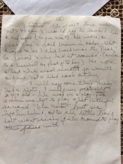 Letter about Papa's friend (2/4)