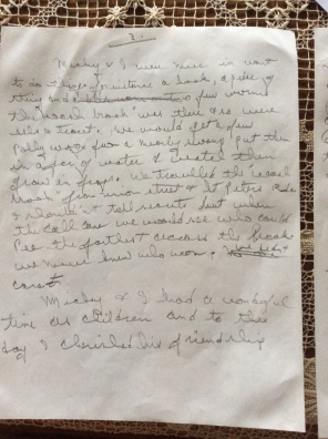 Letter about Papa's friend (3/4)